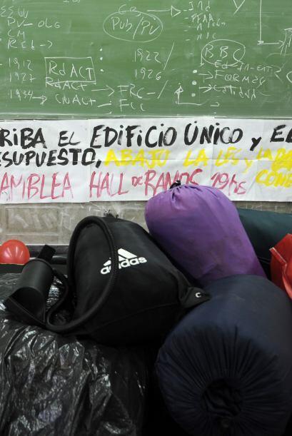 El conflicto de los estudiantes reavivó al mismo tiempo el clima de conf...