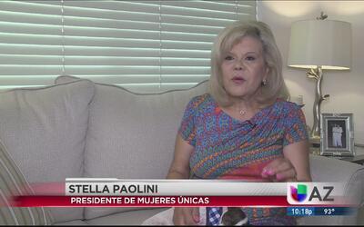 Stella Paolini la voz femenina de la radio en Phoenix