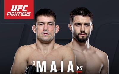 Demian Maia y Carlos Condit estelarizarán la cartelera de UFC de este sá...