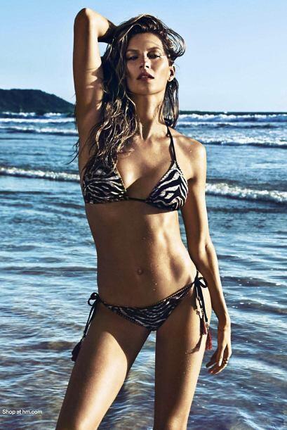 Nada más y nada menos que la impresionante brasileña Gisel...