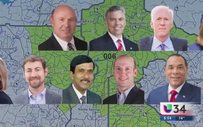 Elección millonaria para representar al distrito 6