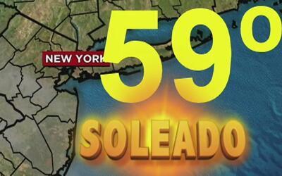 Jueves soleado en Nueva York, pero con un drástico cambio al finalizar l...