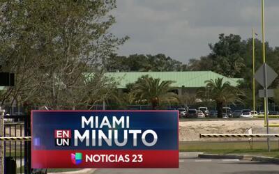 'Miami en un Minuto': la policía de Miami-Dade detuvo a joven de 17 años...