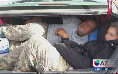 Aumenta contrabando de inmigrantes en cajuelas de automóviles