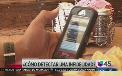Detectando la infidelidad con el teléfono