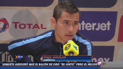 Paul Aguilar: ''Volver a jugar (tras polémica con Mohamed) fue como cuan...