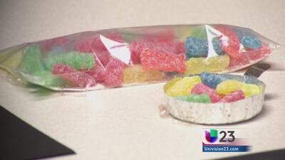 Disfrazan la droga flakka en dulces de gomita