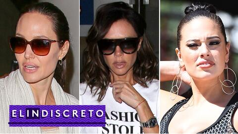 #ElIndiscreto: angelina jolie, victoria beckham, ashley graham