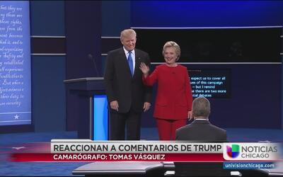 Chicago objeto de críticas de Trump durante el primer debate presidencial