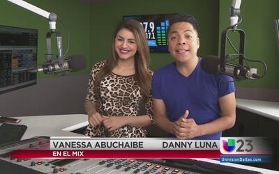 """""""En El Mix"""" con Danny Luna y Vanessa Abuchaibe - Lunes 3/7/16"""