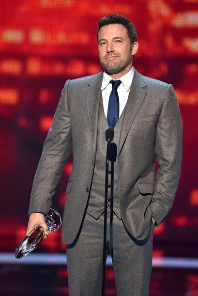 Ben Affleck recibió un homenaje a su carrera humanitaria.