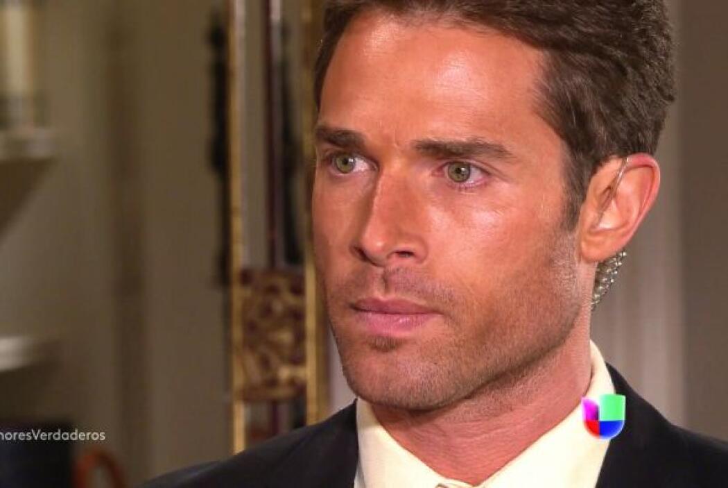 Rulli se convirtió en el guapo guardaespaldas de la protagonista.