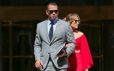 Alex Rodriguez y J Lo