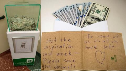 Pasadena Humane Society recibió miles de dólares en donaci...