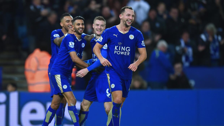 Leicester City volvió a golear en la Liga de Inglaterra
