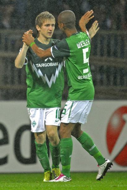 Pero los alemanes reaccionaron y con los tantos de Hugo Almeida y Marko...