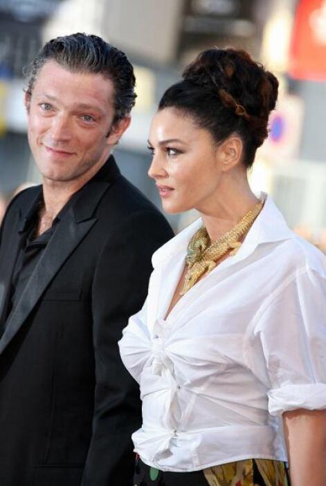 A finales de agosto de 2013 otra pareja se dijo adiós, Vincent Cassel y...