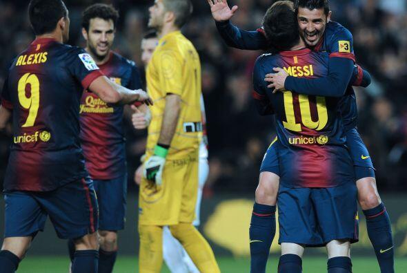Por si fuera poco, Lionel Messi fue quien le dio la asistencia y el espa...