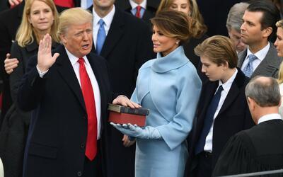 Donald Trump juramenta y se convierte en el presidente número 45 de Esta...
