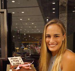La tenista puertorriqueña, quien se encuentra en un torneo en Chi...