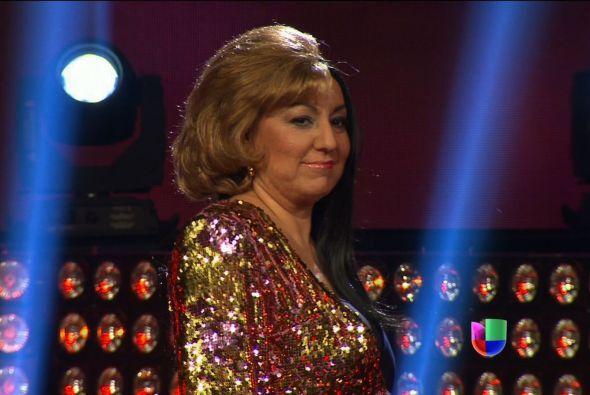 El número de Ana Gabriel/Vicky Carr fue uno de los más aplaudidos de la...