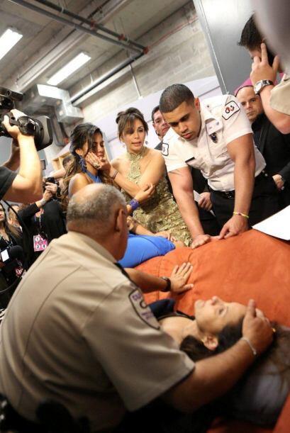 La madre de Tershya Soto sufrió un desmayo tras su eliminaci&oacu...