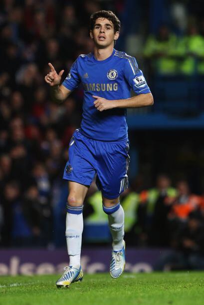 El amazónico Oscar marcaría de penalti y Eden Hazard también convirtió p...