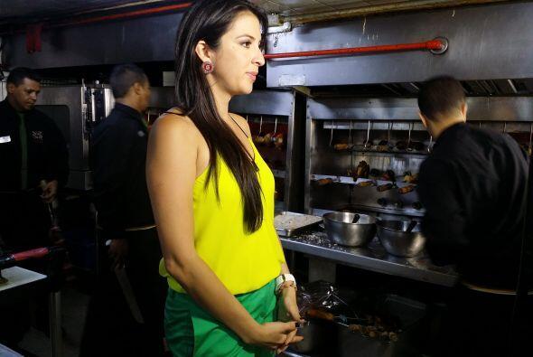 En uno de sus múltiples recorridos, Maity visitó una churrasquería y sab...
