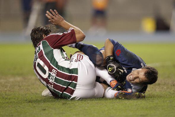El 'Flu' luchó hasta demás, incluso Rafael Moura tuvo un f...