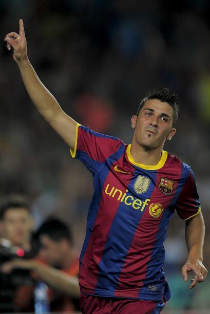 Ya marcando goles para el bando azulgrana, David Villa podría tener la m...