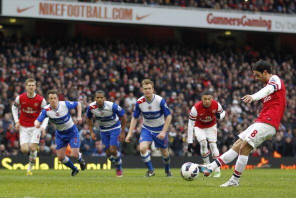 Arsenal le ganó al Reading con acento español. Arteta abri...
