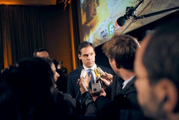 El príncipe Luis Alfonso de Borbón, duque de Anjou, asistió a los result...