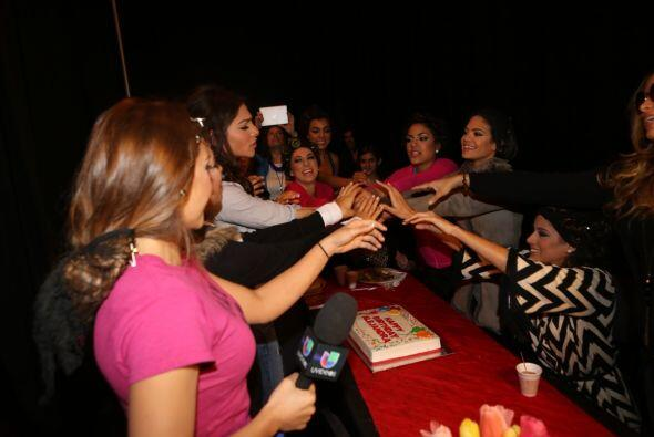 Las participantes de la octava temporada se reunieron antes de iniciar l...