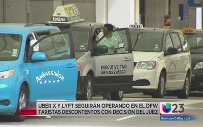 Juez negó petición a taxistas del aeropuerto