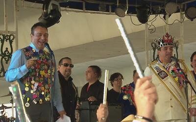 Música y alegría en San Antonio con la Fiesta de los Reyes