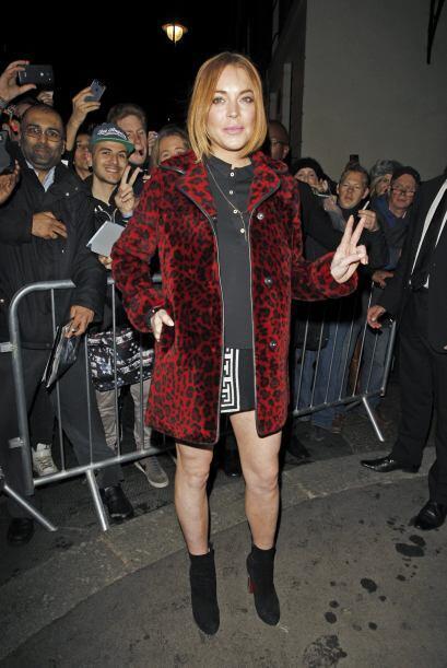Lindsay, ¿por qué no nos habías revelado que ya tenías galán?