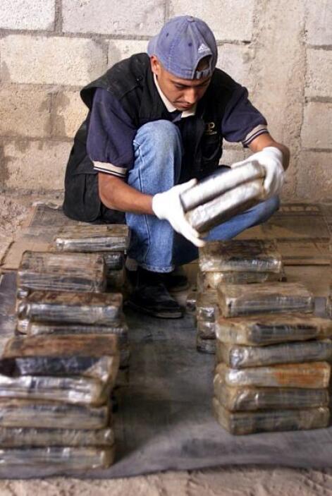 """""""No hay ningún país que está ajeno de sufrir"""" por el tráfico de drogas,..."""