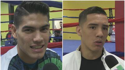Zurdo Ramírez y Óscar Valdez, listos para la pelea