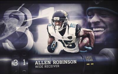 Top 100 Jugadores del 2016: (Lugar 31) WR Allen Robinson