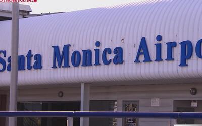 Aeropuerto de Santa Mónica tiene los días contados