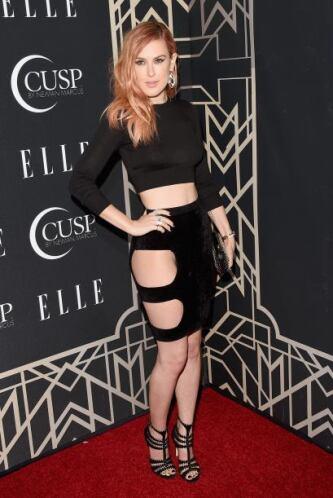 Rumer Willis, la hija mayor de Demi Moore y Bruce Willis, se presentó en...