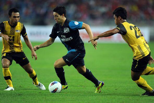Arsenal comenzó su gira por el continente asiático.