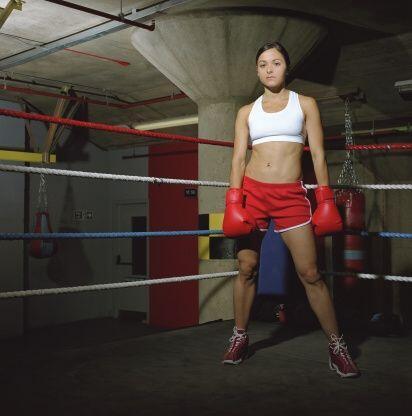 Practicar boxeo es una gran manera de ponerte en forma, al ser el mejor...