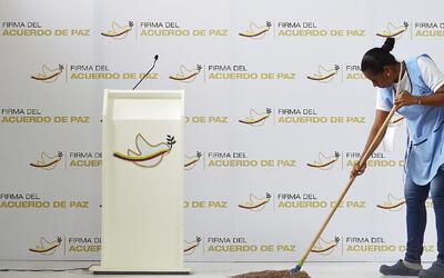 Todo listo para el histórico acuerdo de paz en Colombia