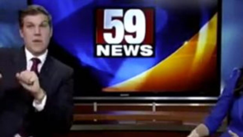 Hilarious News Guy Dance
