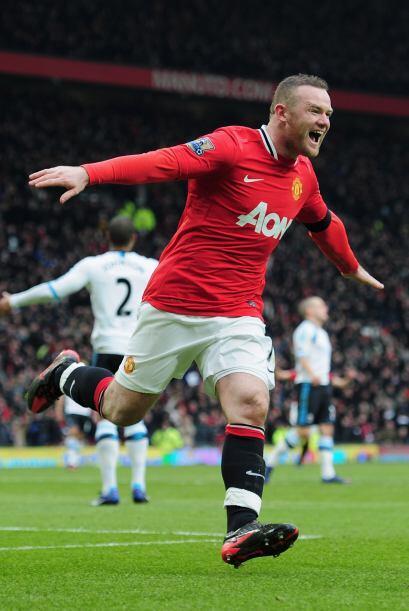 Wayne Rooney gana $7.7 millones de euros, es decir $10.5 millones de dól...