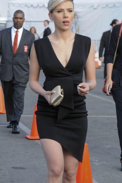 Lo cierto es que Scarlett dejó demostrado que su espectacular fig...