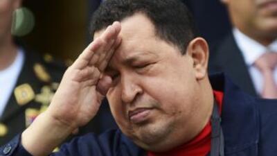 El presidente Hugo Chávez reapareció ante los medios de comunicación.