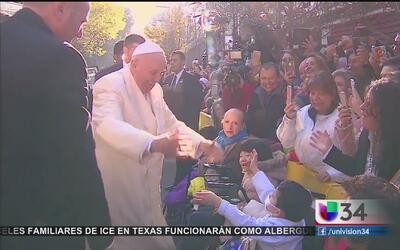 El papa Francisco, cercano con los mexicanos