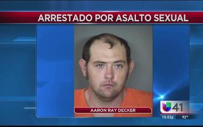 Arrestado por asalto sexual